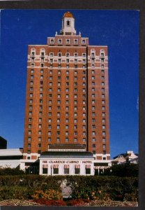 NJ Claridge Casino Hotel Atlantic City New Jersey Postcard Gambling