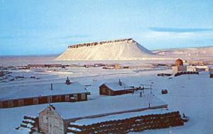 Greenland - Dundas Mountain near Thule Air Base