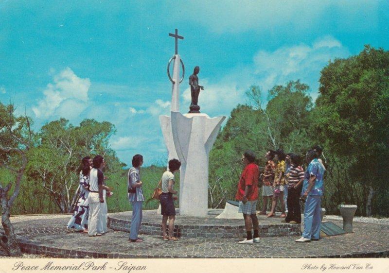 SAIPAN , Northern Mariana Islands , 50-70s ; Peace Memorial Park