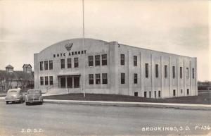 Brookings South Dakota ROTC Armory Real Photo Antique Postcard J46584