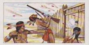 Burtons Vintage Trade Card 1972 The West No 17 Comanche Indians