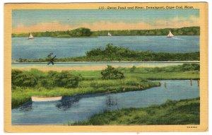 Dennisport, Cape Cod, Mass, Swan Pond and River