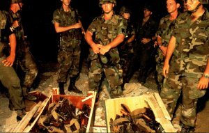 Military United States Marines In Grenada 25 October 1983