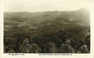 australia, HEALESVILLE, Victoria, View from Malleson's Look Out (1930s) RPPC (2)