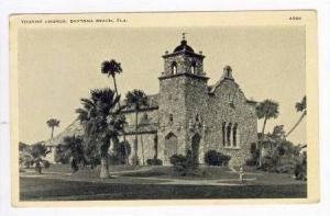 Tourist Church, Daytona Beach, Florida, PU-1938