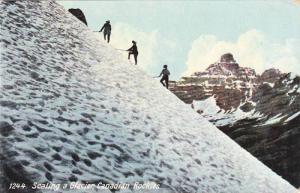 Scaling a Glacier, Canadian Rockies Canada, 10-20s