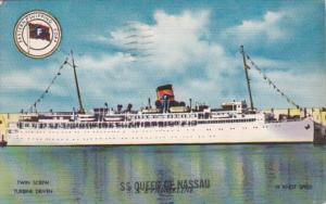 Eastern Shipping Corporation S S Queen Of Nassau 1955