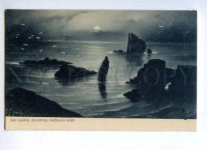144736 UK DRONGS HILLSWICK Shetland isles Vintage postcard