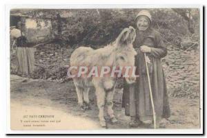 In Creuse Creuse Postcard Old country Y rather than ane moun moun houmme (ass...