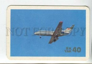 3115442 RUSSIAN Aircraft Yak-40 Old AEROFLOT photo calendar