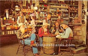 Knott's Berry Farm, Ghost Town, California, CA, USA Postcard Checker Gam...