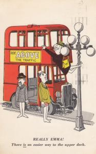 VICTORIA , B.C. Canada , 1967 ; Bus comic