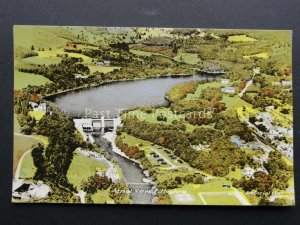 Scotland AERIAL VIEW of PITLOCHRY by M&L National Series Old Postcard