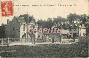Postcard Old Riva Bella (Calvados) Christian Avenue Villas