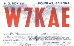 Douglas, Arizona, Post Card