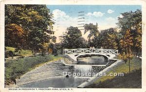Proctor Park Utica NY 1917