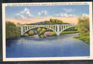 Tennessee colour PC US Hwy 23 Bridge Holston River, unused