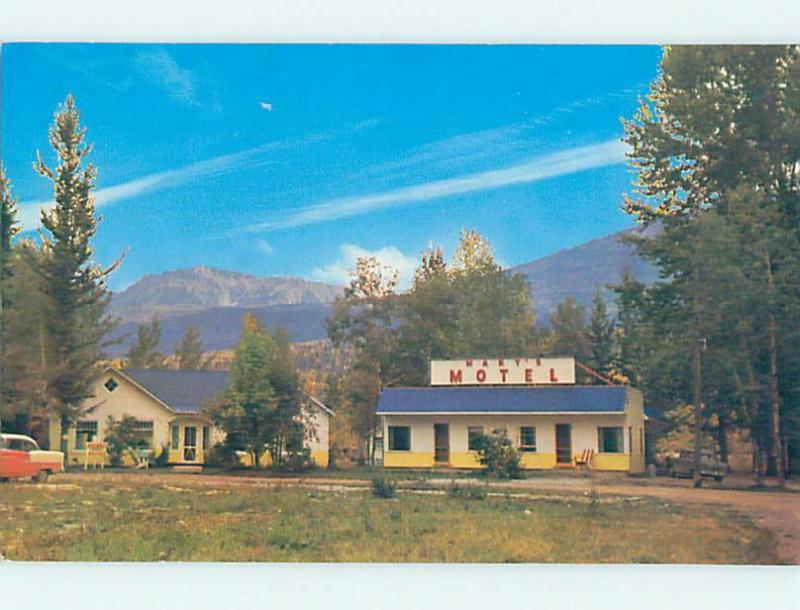 Pre-1980 MARY'S MOTEL Golden British Columbia BC o0593