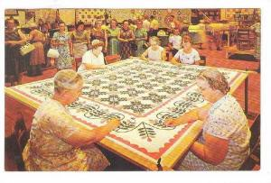 Quilting Bee , Chocolate Town, U.S.A, Hershey,  Pennsylvania, 40-60s