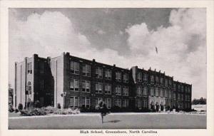 North Carolina Greensboro High School