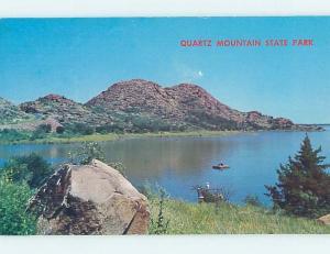 Pre-1980 PARK SCENE Granite & Lugert & Lone Wolf - Near Altus & Hobart OK H2984