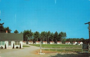Postcard 1962 Eastern Pines Guest Resort Cool Comfortable, Wells, Maine ME6.