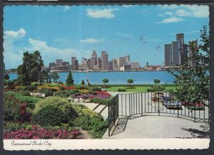 View of Detroit From Windsor,Ontario,Canada BIN