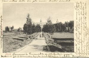 finland suomi, TÖYSÄ, Töysän Kirkko, Etelä-Pohjanmaa (1906)