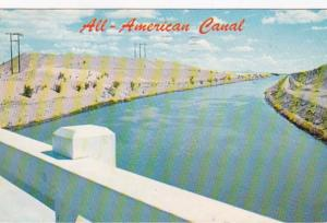 Arizona All-American Canal Near Yuma 1960