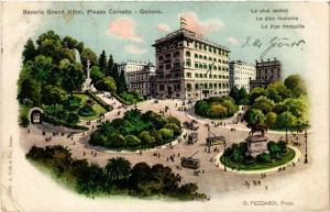 CPA GENOVA Bavaria Grand Hotel, Piazza Corvetto ITALY (497789)
