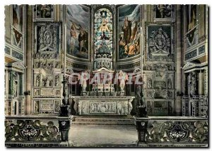 Postcard Modern Certosa di Pavia Altar