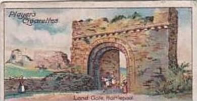 Player Vintage Cigarette Card Celebrated Gateways 1909 No 50 Land Gate Hartle...