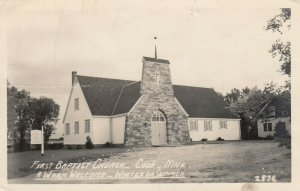 RP: COOK , Minnesota , 1940s ; First Baptist Church