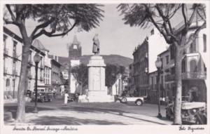 Portugal Madeira Avenida Abanoel Arriaga  Real Photo