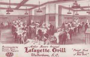 WALTERBORO , South Carolina , 40-50s ; Lafayette Grill