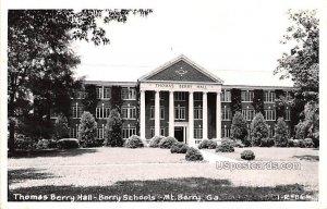 Thomas Berry Hall - Mount Berry, Georgia GA