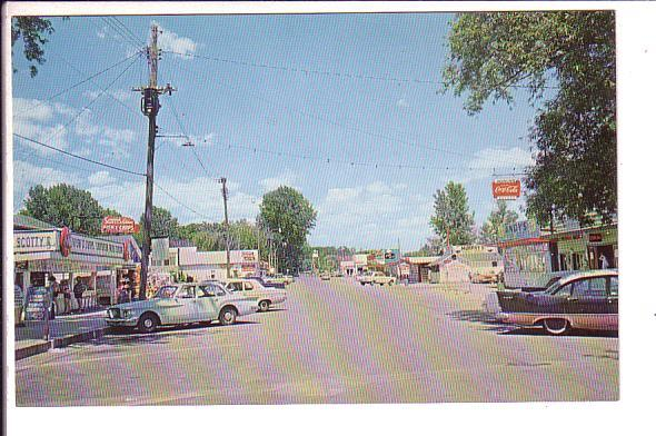 Concession Area, Port Dover, Ontario, Lake Erie, 50's Cars