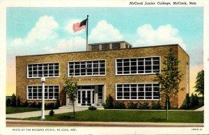 Nebraska McCook Junior College 1947 Curteich
