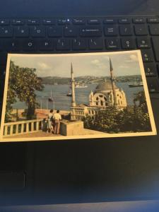Vintage Postcard; Dolmabahce Mosque , Istanbul