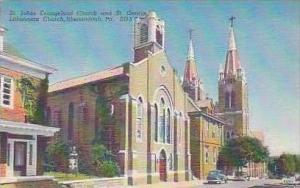 Pennsylvania Shenandoah St Johns Evangelical Church