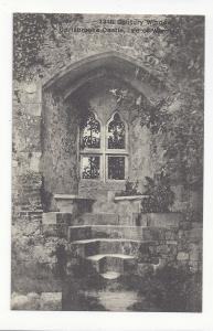 UK Isle of Wight Carisbrooke Castle 13th Century Window T Piper Postcard