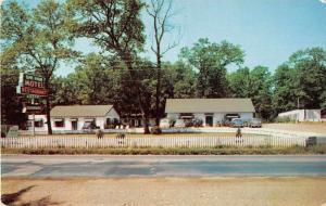 Gainesville Virginia view of Oak Park Motel and Restaurant vintage pc Y15680
