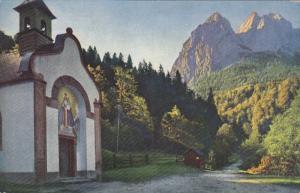 Kapelle Am Wege Zur Hollentalklamm, Hammersbach Bei Garmisch, Germany, 1900-1...
