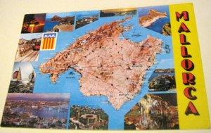 Spain Mallorca Map 175 COFIBA - unposted