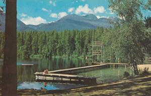 Scenic View, Eleanor Lake,  Blue River,  B.C., Canada,  40-60s