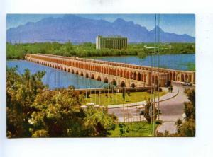 193036 IRAN ISFAHAN thirty three bridges old photo postcard