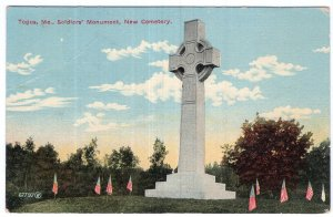 Togus, Me, Soldiers' Monument, New Cemetery