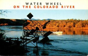 California Blythe Water Wheel On The Colorado River At Quien Sabe Point