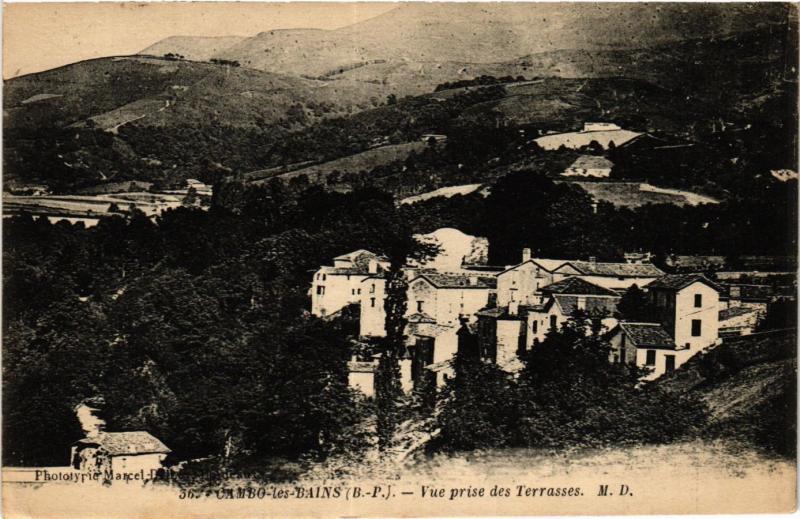 CPA CAMBO-les-BAINS Vue prise des Terrasses (411863)
