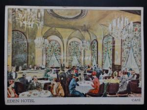 Germany: West Berlin THE EDEN HOTEL - Cafe c1930's